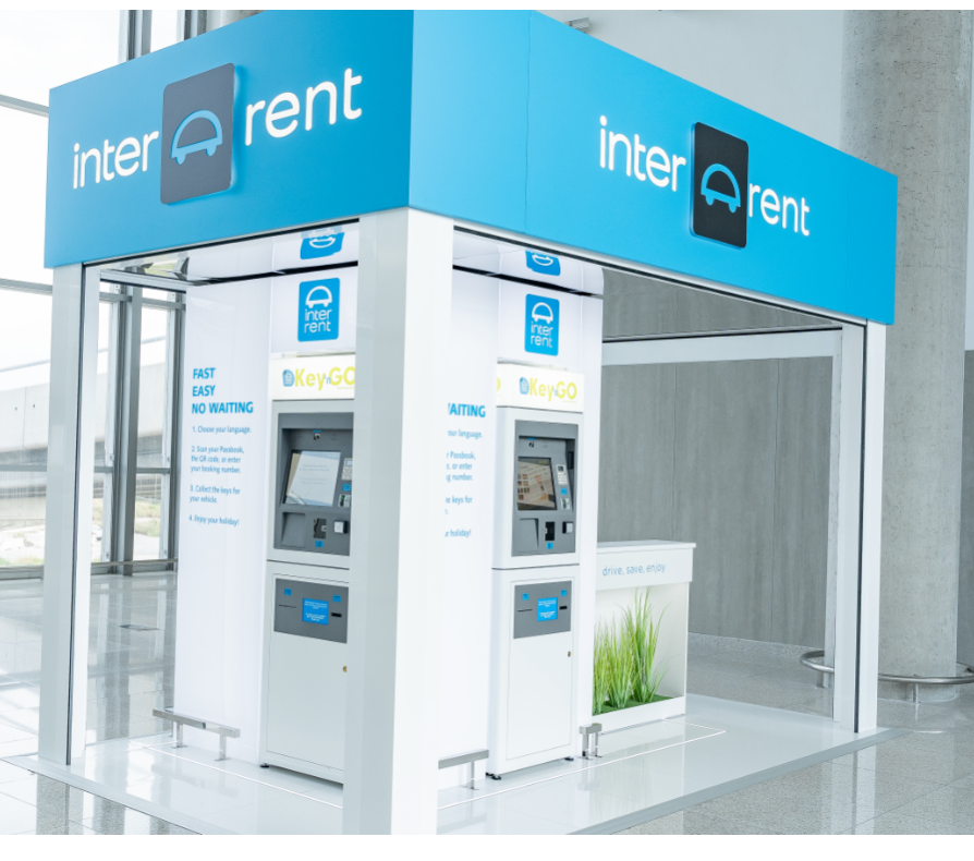 Aluguer de carros com self-service da InterRent Key'N Go